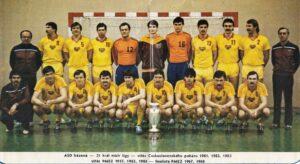 PMEZ 1984 – házená – Dukla Praha